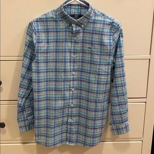 NWT Vineyard Vines Boys Button Down Shirt